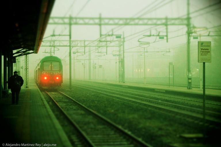 imola treno nebbia