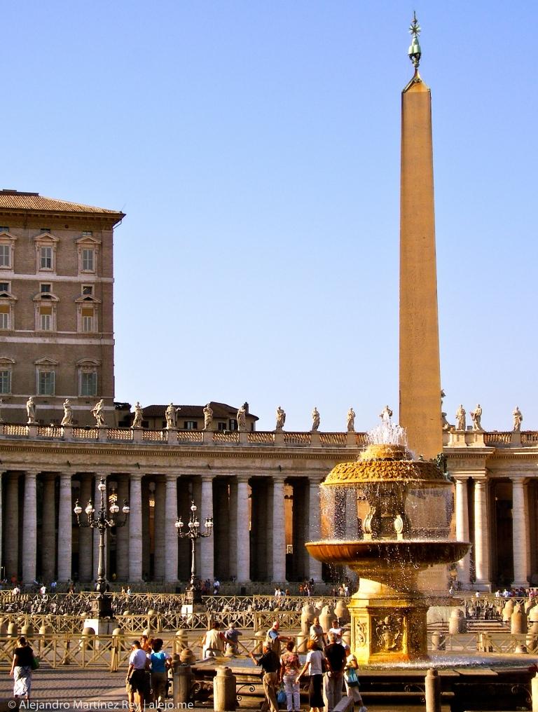 Obelisco Sisto V Vaticano